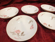 "Lot of 6 Coupe Soup China Bowls Sango Japan ""Nancy"""