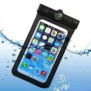 """Real Waterproof Cover with Compass (10M Depth) For Smartphones 5 """""""