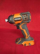 "RIDGID X4 18V 1/4"" Cordless Impact Driver (Tool-Only) R86034 [B]"