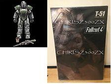 "Fallout 4 Power Armor T-51 1/6 Scale Figure Statue ThreeZero SideShow 14.5"" Tall"