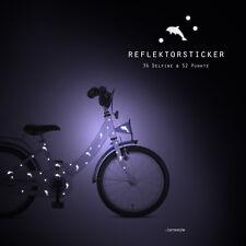 "Reflektor Fahrradtattoos ""Delfine"" reflektierende Aufkleber, Fahrradaufkleber"