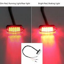 Moto Tail Brake Stop Light Indicator Lamp Rear Light For ATV Quad Kart Universal