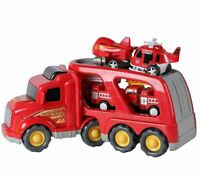 Fire Truck Rescue and Emergency Transport Vehicle W Sounds and Lights