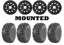 Kit 4 Kenda Bearclaw HTR K587 26x9-12/26x11-12 on ITP Delta Steel Black H700