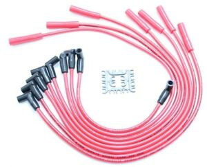 MAXX 549R 8.5mm Spark Plug Wires 68-76 Big Block Ford 351C 351M 400 429 460 HEI