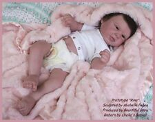 "SOLD OUT & HTF Rina 20"" Unpainted Doll Kit by TALENTED SCULPTOR Michelle Fagan"