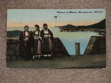Women in Mostar Herzegovina, Austria, 1911, used vintage card