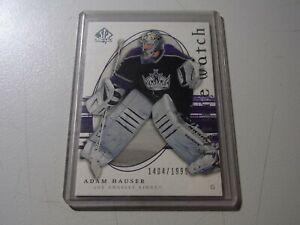2005-06 SP Authentic Kings Hockey Card #229 Adam Hauser RC #1404/1999