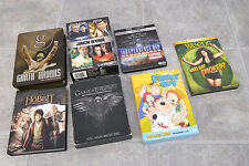 7 DVD Lot: Game of Thrones, The Hobbit, Family Guy, Jack Ryan Collection, Weeds