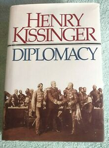 Henry Kissinger * Diplomacy * Book signed copy w/dust cover