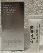 La Prairie Switzerland Essence of Skin Caviar EYE COMPLEX Extract .17 oz/5mL New