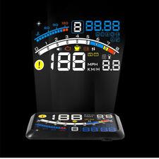 """5.5"""" Car OBD2 II HUD Head Up Display Fuel Consumption Speed Warning System 12V"""