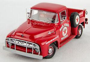 Rare Vintage Danbury Mint 1956 Ford F-100 V8 Texaco Main Street Pickup Truck