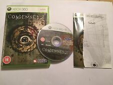 PAL Xbox 360 Spiel Condemned 2/II + Box & Anleitung komplett