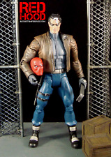 Custom RED HOOD Jason Todd Figure DC Universe Classics Batman and Robin