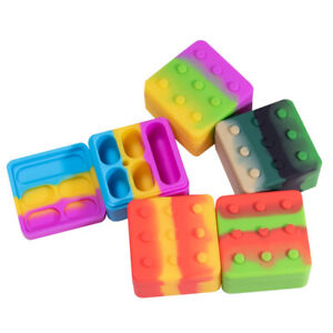 4 in 1 26ml Silicone Container Jar box mixed color