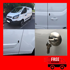 Ford Custom 2012> Rear Van Security Deadlock Kit And Hykee Lock With Bezel