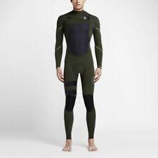 New $280 Men's Hurley Fusion 302 Wetsuit 3/2MM FullSuit Green Sizes S MS M LT XL