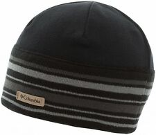 Columbia Alpine Pass Fleece Beanie Hat, Black - Additional Earband - $25 NWT!
