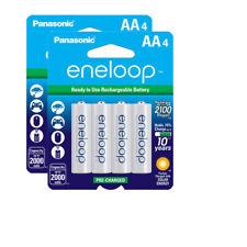 2x Panasonic Sanyo Eneloop 8 Pack AA NiMH 2000Mah Rechargeable Battery #8036 x2