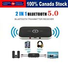 2 in1 Wireless Bluetooth Audio Transmitter and Receiver 3.5MM RCA Adapter HIFI