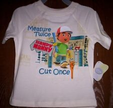 Handy MANNY Boy's 3T Short Sleeve Embroidered Shirt NeW Disney Store Tools NWT