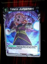 Time's Judgement BT3-122 Foil Dragon Ball Super Parallel Rare Cross Worlds NM/M
