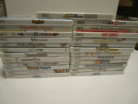 Lot of 25  Games for WII Games Bakugan, Just Dance Very Good Cond  Free Ship