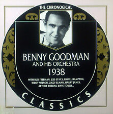 CD BENNY GOODMAN - 1938, Chronogical Classics