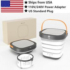 Moyu Foldable Portable Compact Bucket Washing Machine (Open Box) -Spin Dry