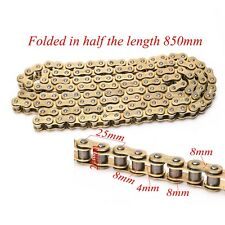 Heavy Duty 428V Chain 136 Link Motorcycle O-Ring Chain For Motocross