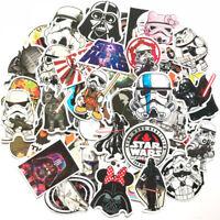 50Pcs Star Wars Skateboard Stickers Bomb Vinyl Laptop Luggage Decal Dope Sticker