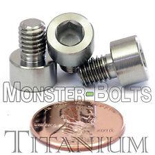 6mm x 1.0 x 8mm - Titanium Socket Head Cap Screw - DIN 912 Grade 5 Ti M6 Hex