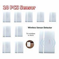 433 MHz Wireless Home Window Door Burglar Security Alarm System Magnetic Sensor