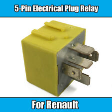 1x Yellow 5 Pin Relay For Renault Grand Scenic 12v 40A Electrical Plug Relay