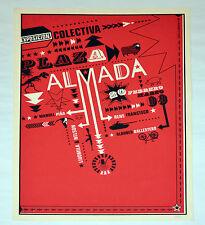 Giselle Monzon Serigraph.Design art.ARTE Cubano.Original.Manuel Piña.Collective