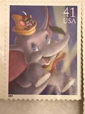 Usps The Art Of Disney Magic Dumbo Timothy Q Mouse 2007 41 Cent Stamp