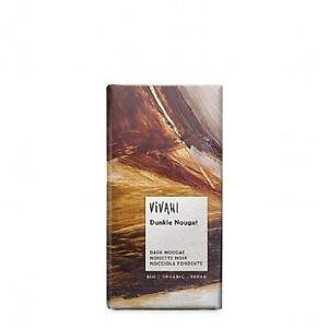 Dark Nougat Chocolate 100g Pack of 5