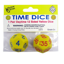 Time Dice, Pair of Yellow (AM)