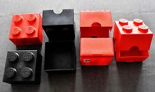 1xLego System Schrank schwarz 2x2x2 Space Box Tür bedruckt Spyrius 4346px15 4345