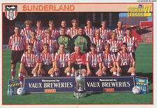 N°437 - 438 SUNDERLAND.FC TEAM Premier League 1997 MERLIN STICKER VIGNETTE