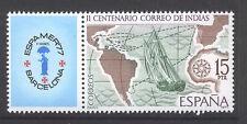 SPAIN ESPAÑA 1977 MNH SC.2065 ESPAMER Philatelic exhib.