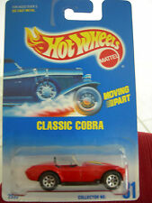 Hot Wheels Classic Cobra #31 w/moving parts from 1991!!