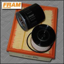 KIT di servizio PEUGEOT 206 2.0 HDI FRAM Olio Aria Carburante Filtro TECAFILTRES (1999-2007)