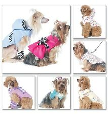 McCall's 6218 Sewing Pattern to MAKE Funky Dog Coats Clothes in Sizes S-XL
