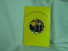 John Deere 1989 Suncatcher on Card-2 Deer & Trees