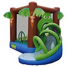 Crocodile Airflow with Slide Bouncy Castle 9113