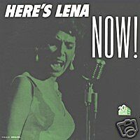 LENA HORNE Here's Lena now US Press Mono 33 Tours
