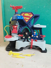 imaginext superman playset
