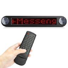Voiture DEL Message Display, défilement système, contrôle à distance, Fenêtre d'aspiration, Entièrement Neuf dans sa boîte